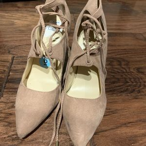 Marc Fisher Pink strap high heels size 6M NEW